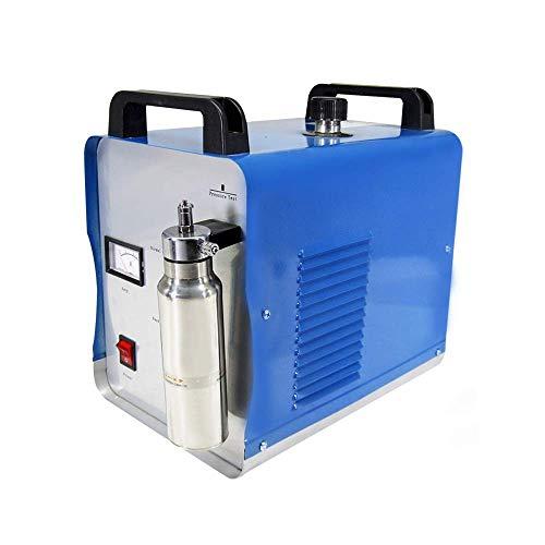 MXBAOHENG Máquina de pulido de llama acrílica 75L/H de oxígeno hidrógeno de agua soldador de cristal acrílico pulidor antorcha soldador 220V H160