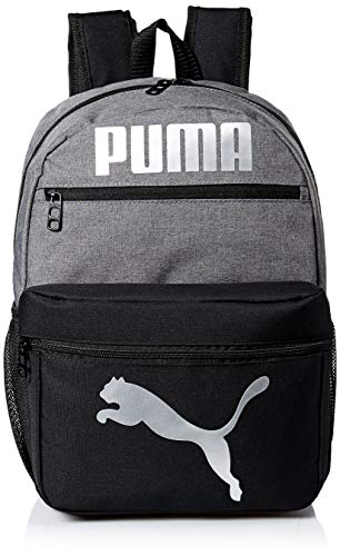 PUMA Kids' Big Evercat Meridian Backpack, Heather Multi, Youth Size