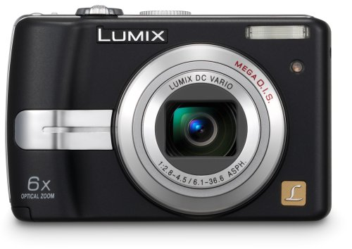 Panasonic Lumix DMC-LZ7K 7.2MP Digital Camera with 6x Image Stabilized Zoom (Black) (OLD MODEL)