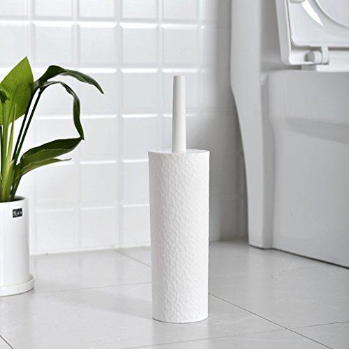 &brosse de toilette Brosse de toilette salle de bains en plastique givré brosse de toilette longue poignée de nettoyage Creative Brush Landing