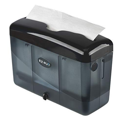 """EZ-PUll Countertop Slimfold Paper Dispenser, (only for P2F5 towel) 9"""" x 3.5"""" x 6"""", Black"""