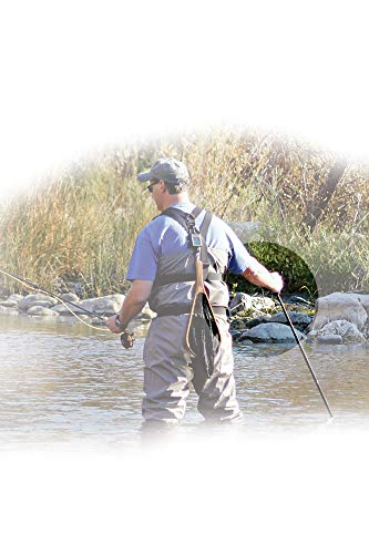 """Hammerhead industries gear keeper net retractors – features various mounting options with qc-ii split ring accessory… 4 essential: best way to carry your net…grab your net, use it, let it go… it retracts back everytime! When fishing, our 42"""" extension and 12oz retraction force provides full arms reach and gentle retraction force. Retractable tether, prevent loss: no more fumbling with magnetic latches or lost nets. Net hangs basket down within easy reach to grab and extend. If a fish runs and you need your hands, simply release the net and it retracts out of the way. Ultimate mounting: hook and loop strap mount is very versatile easily attaches to a pack or wader strap, belt or any bar, d-ring or strap in a kayak."""