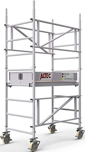 ALTEC MySelf-Tower | 1-Personen Aufbau Aluminium-Gerüst | 3 m bis 7 m (3 m)