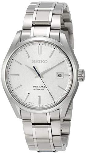 SEIKO Silver dial Mechanical Titanium SARX055 Men's Watch