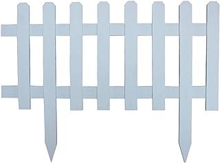 ZHANWEI Garden Edging Border No Dig, Outdoor Wooden Decor Fences, For Gardening Lawn Residential Edging Decor (Size : 92x7...