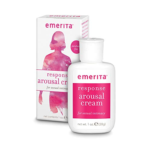 Emerita Response Arousal Cream | Enhance & Intensify | Sensual Intimacy for Women | Vegan & No Parabens | 1 oz