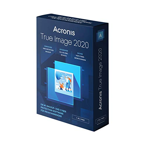 Acronis True Image 2020 Advanced 1 Appareil 1 An PC/Mac/Android/iOS Telechargement