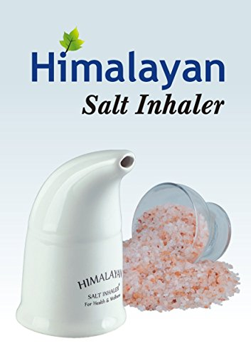 Himalayan Pink Salt Inhaler & 150g Pink Salt - All-Natural Respiratory Aid from Select Health & Wellness