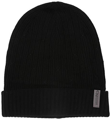 Outdoor Research Bonnet Duke Unisexe pour Temps Froid, Mixte, Chapeaux d'Hiver, 271518, Noir, Taille Unique
