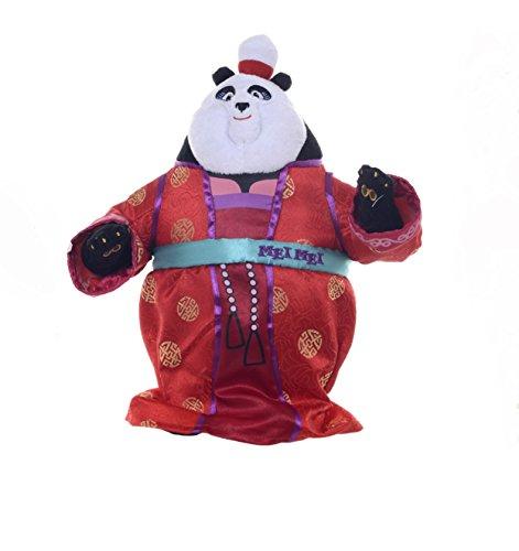 Nuevo Kung Fu Panda 3 Mei Mei en traje rojo 12 pulgadas de juguete suave
