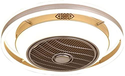 Decoración del hogar-araña, 4 LED 5W Control remoto de atenuación de techo Ventilador de techo Preguntar control Modern Smart Selling Fan Lamp, Fan de la lámpara de sellado de la atenuación