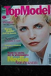 ELLE TOP MODEL 012 1996 COVER NADJA AUERMANN CAROLYN MURPHY INES SASTRE SHRIMPTON KAREN MULDER
