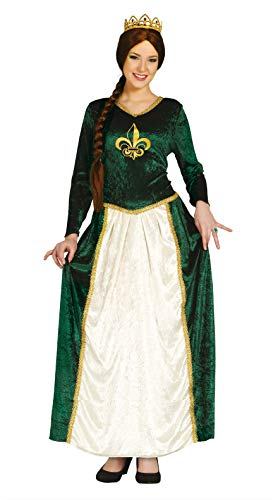 grünes Prinzessin Kostüm für Damen Gr. M und L, Größe:M