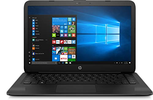 HP 14-ax040wm Laptop, Intel Celeron N3060, 1.6 GHz, 32 GB, Windows 10 Home 64 Bit, Black