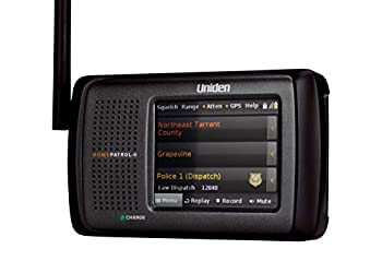 Uniden HomePatrol-2 Color Touchscreen Simple Program Digital Scanner TrunkTracker V and S,A,M,E Emergency/Weather Alert APCO P25 Phase 1 and 2! Covers USA and Canada Quick Record and Playback