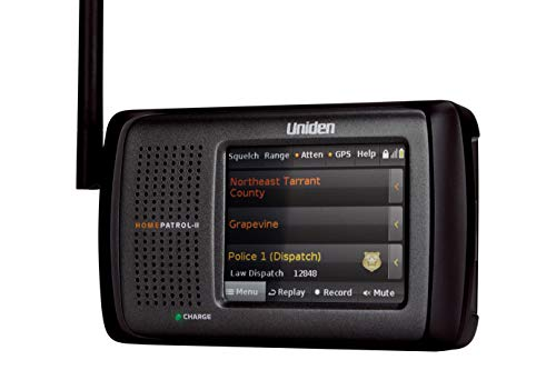 Uniden HomePatrol-2 Color Touchscreen Simple Program Digital Scanner, TrunkTracker V and S,A,M,E, Emergency/Weather Alert, APCO P25 Phase 1 and 2! Covers USA and Canada, Quick Record and Playback