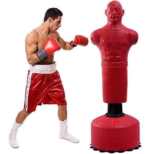 RJJBYY Freistehender Box-Dummy, Freistehender Box-Boxsack, Heavy Duty Target Stand-Boxsäcke/Ausgezeichneter Dummy Für Boxen/Kickboxen/Mixed Martial Arts