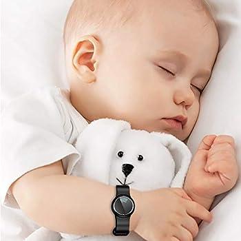 Blanketswarm Lot de 2 bracelets anti-moustiques à ultrasons étanches et réglables pour enfants et adultes