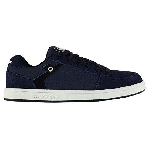 Airwalk Brock Herren Skate Schuhe Herren, Navy Turnschuhe Sneakers Schuhe, Navy