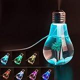 Sketchfab Mini Colorful Air Freshener USB Night Light Bulb Humidifier Air Purifier Diffuser