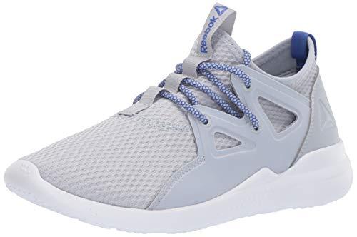 Reebok Women's Cardio Motion Dance Shoe, Cold Grey/Crushed Cobalt/White, 7 M US