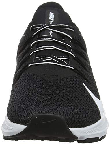 Nike Quest 2, Zapatillas de Running para Asfalto Mujer, Multicolor (Black/White 004), 37.5 EU