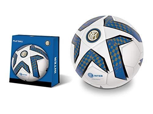 Mondo Toys - Pallone da Calcio cucito  F.C. Internazionale Milano - size 5 - 350 g - colore nero/azzurro - 13748