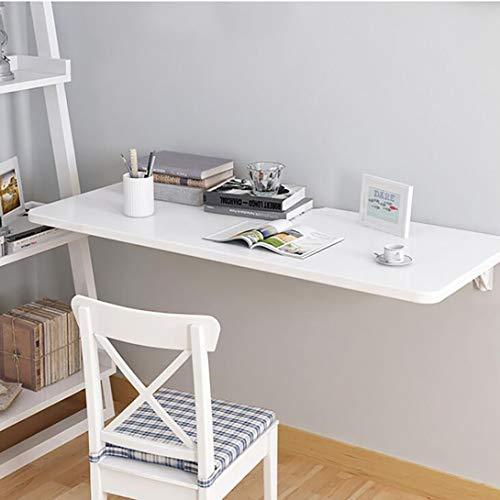 J.W. Faltbarer Schreibtisch Wandmontierter Wand-Schreibtisch Computertisch Geeignet für kleine Räume, weiß, Multi-Size