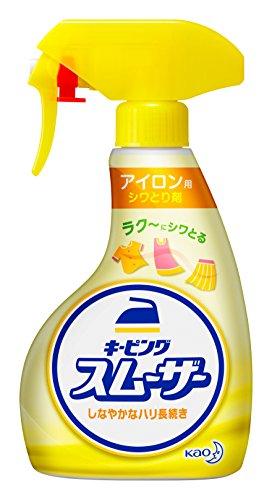花王『アイロン用シワとり剤 キーピングスムーザー』