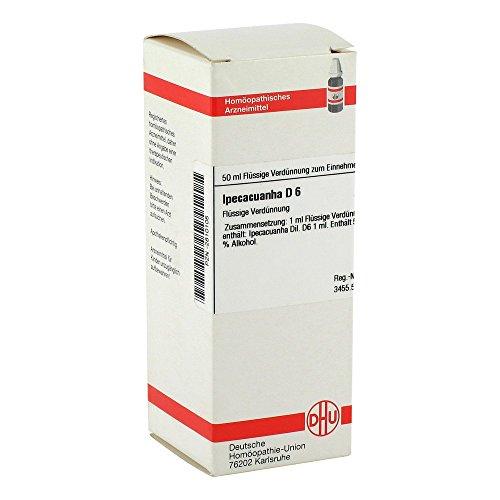 IPECACUANHA D 6, 50 ml