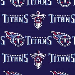 NFL Tennessee Titans Cotton 70171D Fabric by The Yard