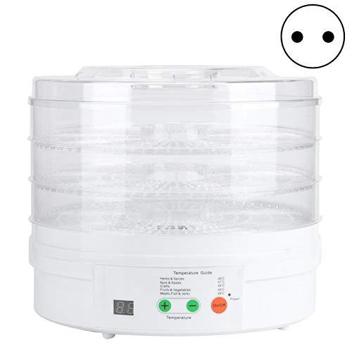Ong Secadora de Alimentos, deshidratador de Alimentos, artículo para Frutas, Carne, Vegetales de Cocina(Pink)