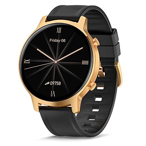 Smartwatch, Reloj Inteligente para Mujer Hombre, Relojes Deportivos de Impermeable IP68 con Pulsometro, Monitor de Sueño, Podómetro, Fitness Activity Tracker para Android iOS