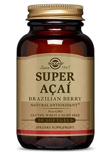 Solgar - Super Acai, Brazilian Berry, 50 Softgels