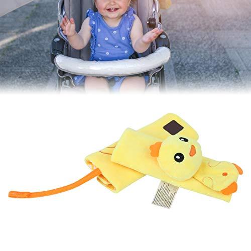 SALUTUYA Cojín de Correa de cinturón de Seguridad de Pollito para Asientos de automóvil para bebés(Chicken Seat Belt)