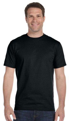 Gildan Mens DryBlend 50 Cotton/50 Poly T-Shirt, XL, Black