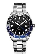 Case Width: 41.5 Case Depth: 10.6 Dial Colour: Black Glass Type: SAPPHIRE Water Resistance: 100 Meter