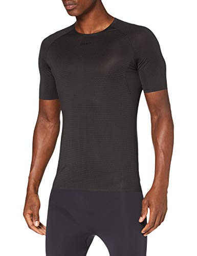 Craft Aero Pack Jersey - Maglia da ciclismo da uomo, taglia M, colore: Nero