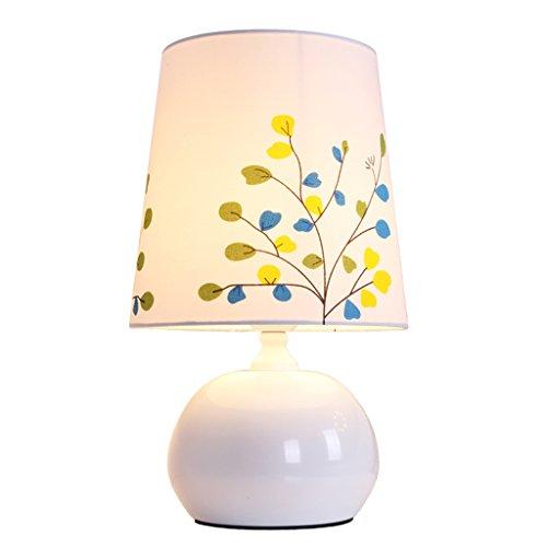 Uncle Sam LI Jardin Français Style Chaude Lampe De Table Fer Léger Corps Tissu Abat-Jour Chambre Salon Lampe De Table