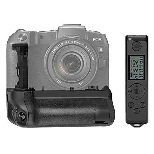 Neewer Empuñadura de Batería con Control Remoto Inalámbrico de 2,4GHz, Compatible con Cámara Digital sin Espejo Canon EOS R, Admite Disparo Vertical (Baterías No Incluidas)