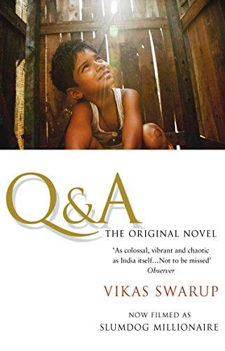 Q and A: The International Bestseller Filmed as Slumdog Millionaire