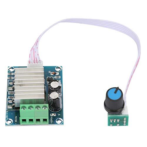 Controlador de velocidad de motor-DC12V ~ 24V 20A PWM DC Controlador de velocidad de motor Regulador de interruptor de control de velocidad de motor con línea