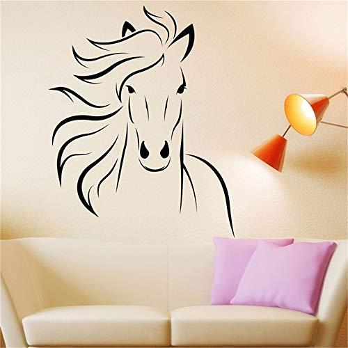 stickers muraux enfants spiderman Cheval Mustang pour le salon de la chambre