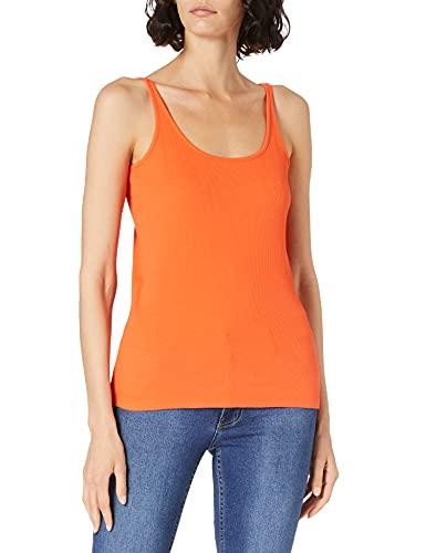 Cecil Damen 316047 T-Shirt, Papaya orange, XL