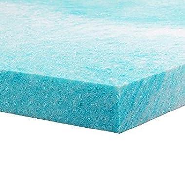 SLIDEEP Memory Foam Mattress Topper - Queen