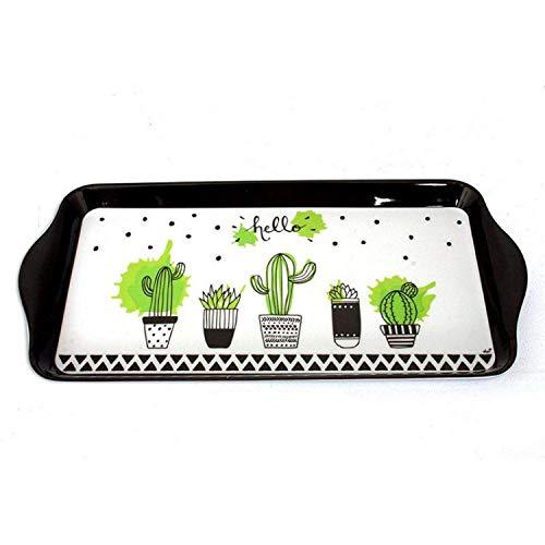 Plateau cactus - 15 x 30,5 cm - Plastique