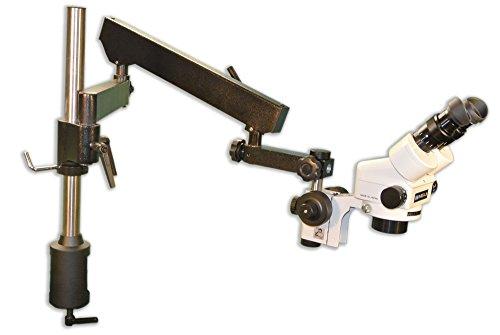 MEIJI TECHNO AMERICA Meiji EMZ-5+MA502+FS+FA-3 Binocular Zoom Stereo Body, 0.7X - 4.5X Zoom Range, Eyepiece, Focus Block, Articulating Flex Arm