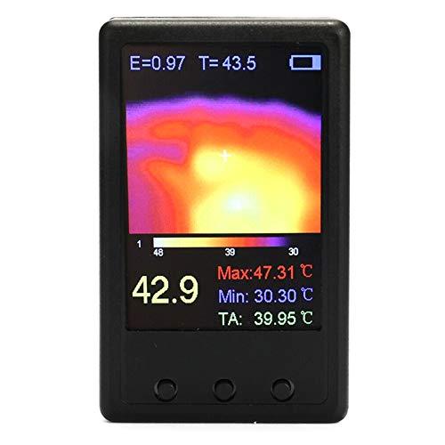Poitwo Handheld-Thermograf-Kamera, Infrarot-Temperatursensor, tragbar, digitales Wärmebildgerät