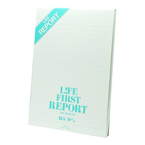 ライフ レポート用紙 ファーストレポート B5 R2