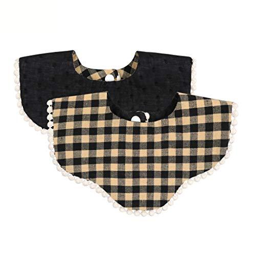 RK-HYTQWR, Baberos para bebé, pañuelo para niño, paño de eructo de algodón,...